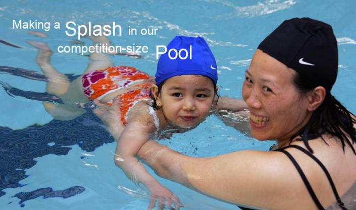 Making a Splash in our Competition-Size Pool""