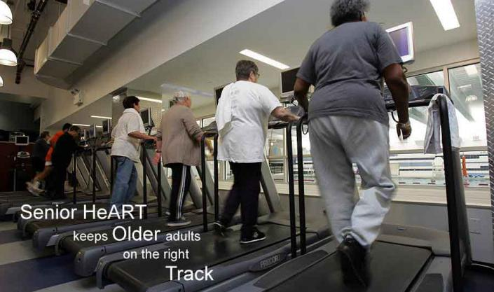 Senior HeART keeps older adults on the Right Track""